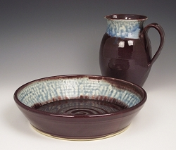 Foot Washing Bowl & Pitcher Sets